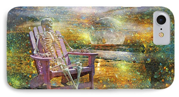 Mystical Sam On Topsail IPhone Case by Betsy Knapp