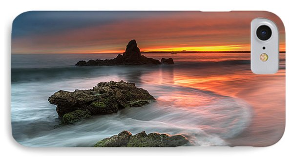 Mystical Sunset 2 IPhone Case by Larry Marshall