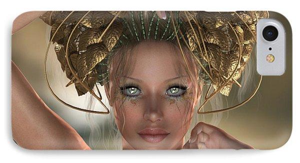 IPhone Case featuring the digital art Mythos by Sandra Bauser Digital Art