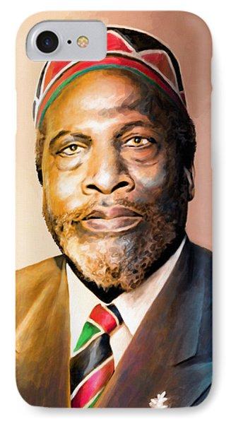George Bush iPhone 7 Case - Mzee Jomo Kenyatta by Anthony Mwangi