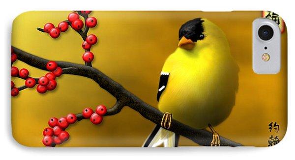 N. American Male Goldfinch IPhone Case