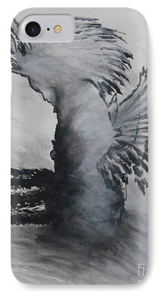 IPhone Case featuring the painting Naamid by Ayasha Loya