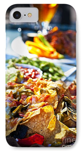 Nacho Plate And Appetizers IPhone Case by Elena Elisseeva
