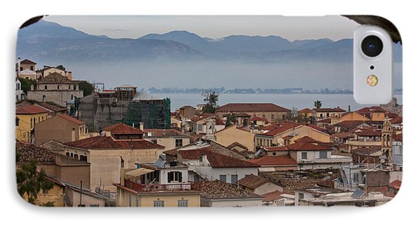 Nafplio IPhone Case by Shirley Mitchell