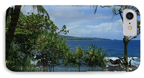 Nahiku Kaelua Honolulunui Bay Maui Hawaii Phone Case by Sharon Mau