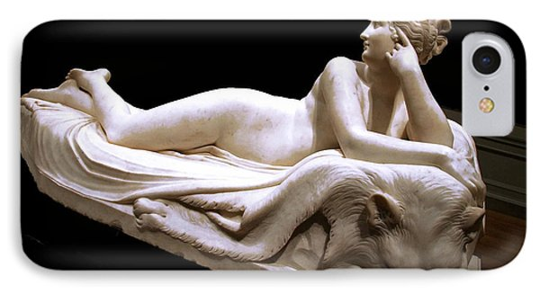 IPhone Case featuring the photograph Canova's Naiad by Cora Wandel