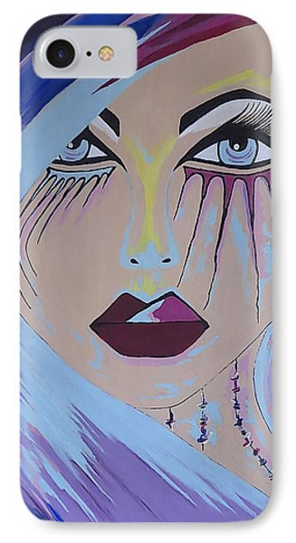 IPhone Case featuring the painting Naira by Kathleen Sartoris
