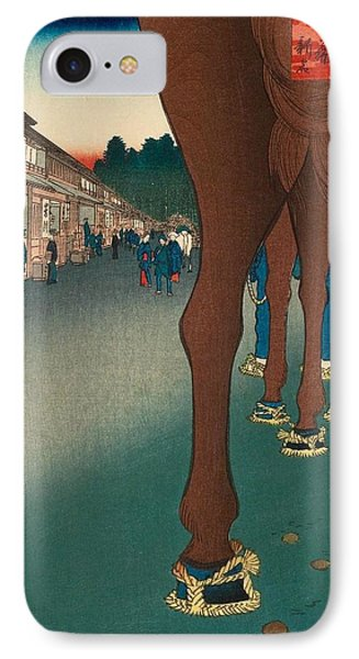 Naito Shinjuku IPhone Case by Utagawa Hiroshige