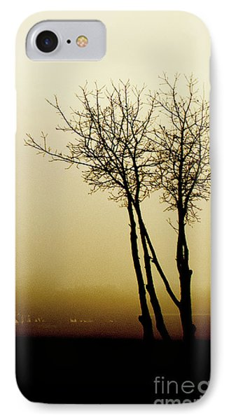 Naked Trees 1 IPhone Case by Artist and Photographer Laura Wrede