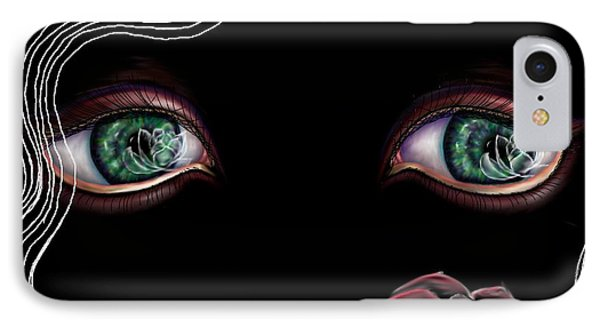 IPhone Case featuring the digital art Namaste by Yolanda Raker