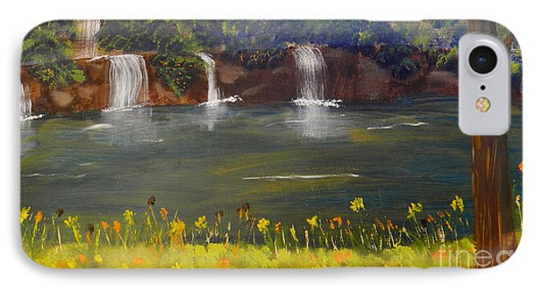 Nandroy Falls In Queensland IPhone Case