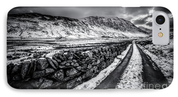 Nant Ffrancon Pass V2 IPhone Case by Adrian Evans