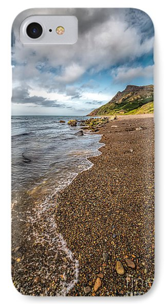 Nant Gwrtheyrn Shore IPhone Case by Adrian Evans