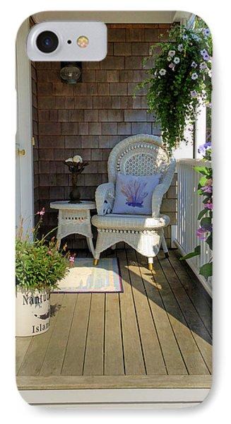 Nantucket Porch IPhone Case