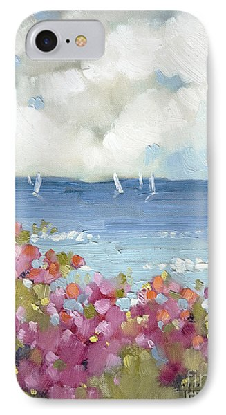 Nantucket Sea Roses IPhone Case