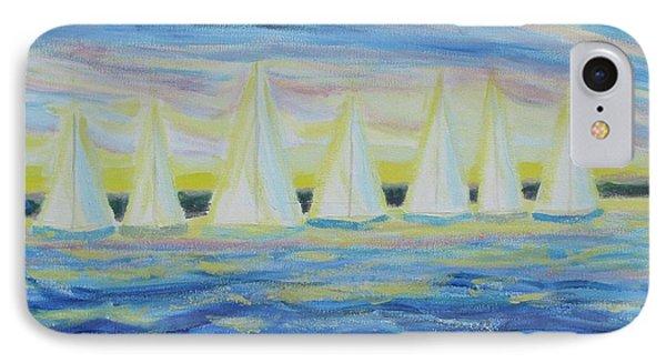 Nantucket Sunrise IPhone Case by Diane Pape