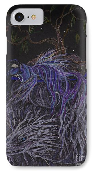 IPhone Case featuring the drawing Nap by Dawn Fairies