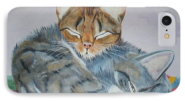 IPhone Case featuring the painting Nap Time by Thomas J Herring