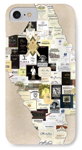 Napa County California IPhone Case by Jon Neidert