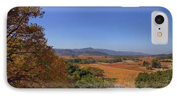 Napa Valley In The Fall IPhone Case