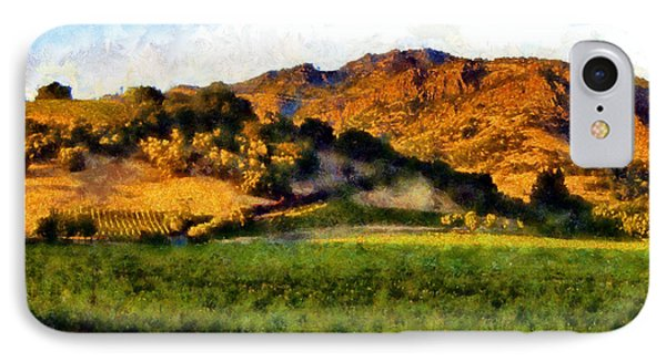 Napa Valley IPhone Case by Kaylee Mason