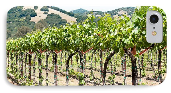 Napa Vineyard Grapes IPhone Case by Shane Kelly