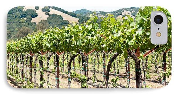 Napa Vineyard Grapes Phone Case by Shane Kelly