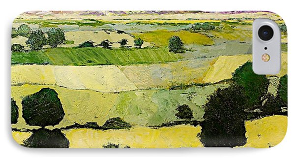 Napa Yellow2 Phone Case by Allan P Friedlander