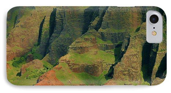 Napail Coast Cliffs Phone Case by Stephen  Vecchiotti