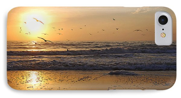 Naples Beach IPhone Case by Lorenzo Cassina