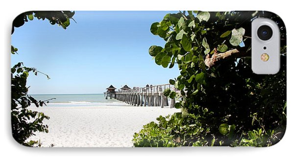 Naples Pier View IPhone Case by Christiane Schulze Art And Photography