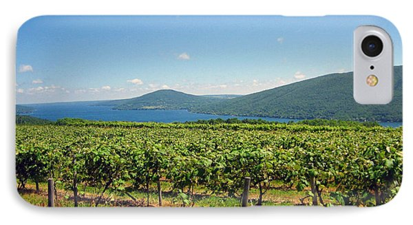 Naples Vineyards IPhone Case by Mary Cloninger