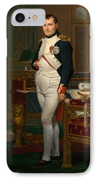 Emperor Napoleon In His Study At The Tuileries IPhone Case by War Is Hell Store