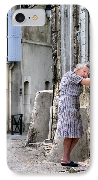 Naptime In Arles. France Phone Case by Jennie Breeze