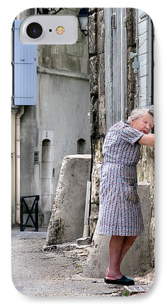 IPhone Case featuring the photograph Naptime In Arles. France by Jennie Breeze