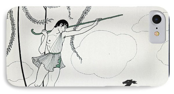 Narcisse Phone Case by Georges Barbier