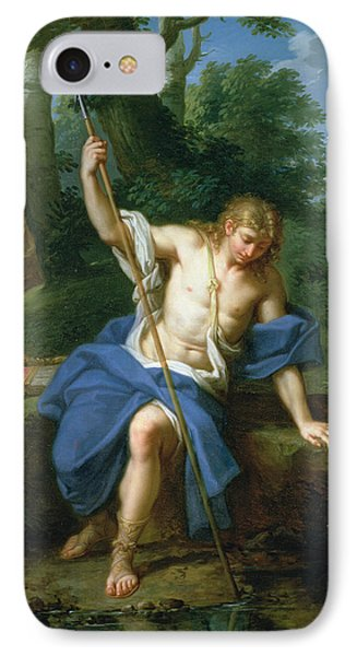 Narcissus And Echo IPhone Case by Placido Costanzi