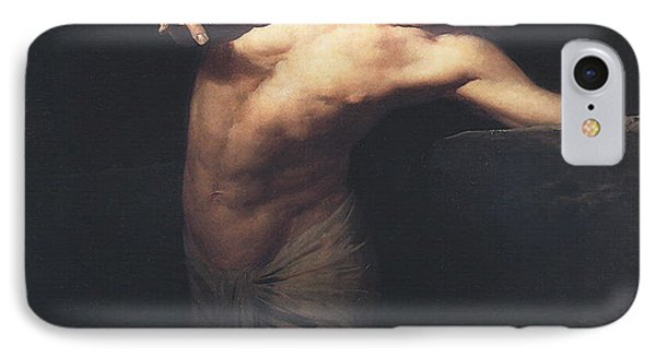 Narcissus  IPhone Case by Gyula Benczur