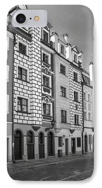 IPhone Case featuring the photograph Narrow Houses by Arkady Kunysz