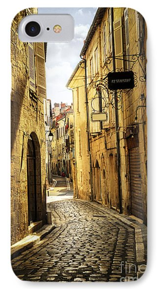 Narrow Street In Perigueux IPhone Case by Elena Elisseeva