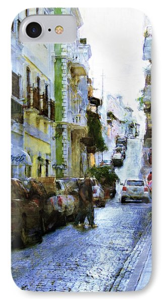 IPhone Case featuring the photograph Narrow Streets by John Rivera