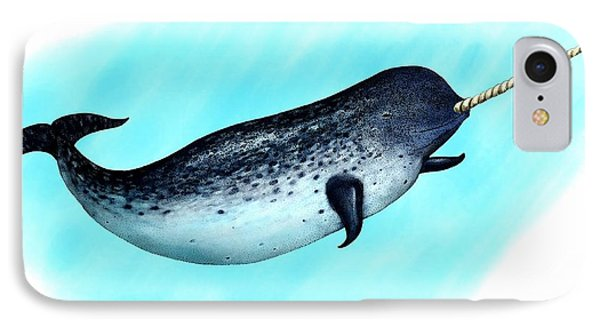Narwhal Whale IPhone Case
