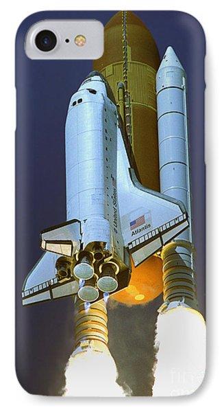 Nasa Atlantis Launch 2 IPhone Case by Rod Jones