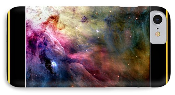 Nasa Ll Ori And The Orion Nebula Stars Of Heaven Bless The Lord IPhone Case by Rose Santuci-Sofranko