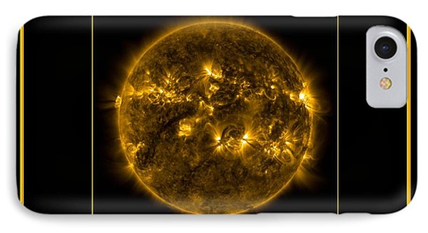 Nasa The Suns Corona Sun And Moon Bless The Lord Praise And Exalt Him Above All Forever Phone Case by Rose Santuci-Sofranko