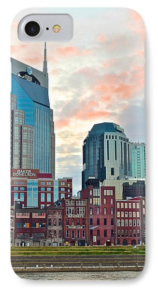 Nashville At Dusk IPhone Case