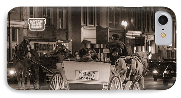 Nashville Carriage Ride Phone Case by John McGraw