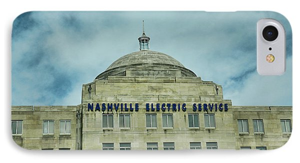 Nashville Electric Service Building IPhone Case