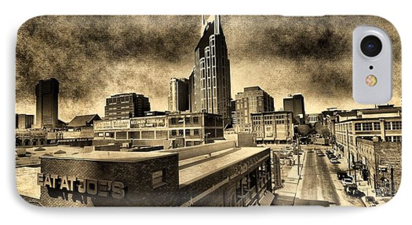 Nashville Grunge Phone Case by Dan Sproul