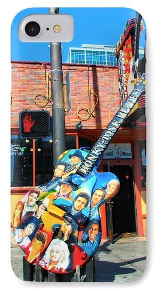 Nashville Legends Guitar IPhone Case
